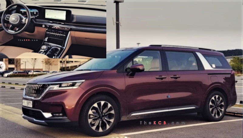 2021 Kia Carnival Caught in the Wild, Debut August 18th