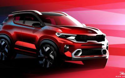 Kia Reveals More Teaser of Sonet Small SUV