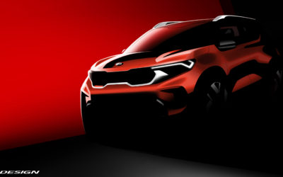 Kia Sonet Teased Ahead of August 7 Debut