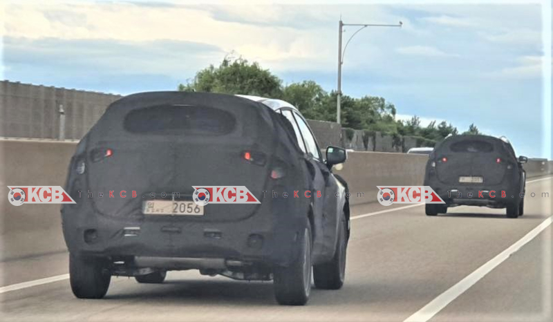 First Images of 4th Gen Kia Sportage NQ4