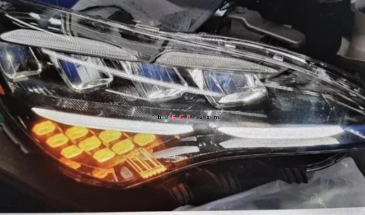 Kia Stinger Facelift Headlamp Leaked