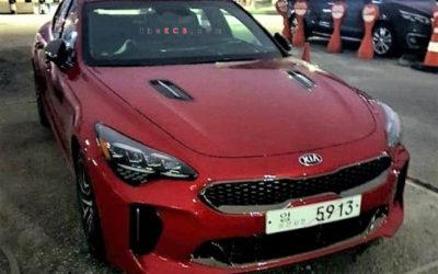 Updated: Kia Stinger Facelift Caught Undisguised