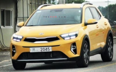 Kia Stonic Caught Undisguised, Slight Changes