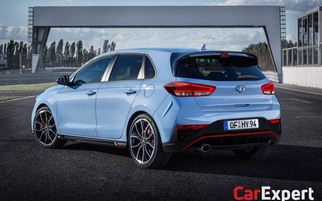 Hyundai i30 N Facelift Rendering
