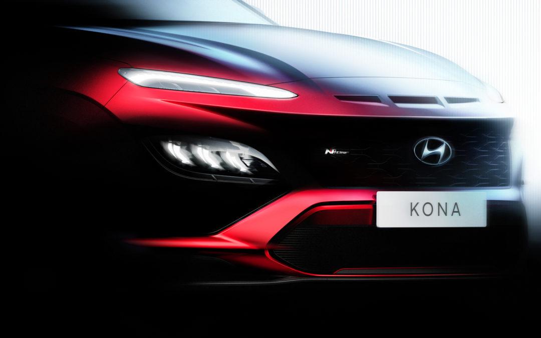 Refreshed Hyundai Kona & Kona N-Line Teased