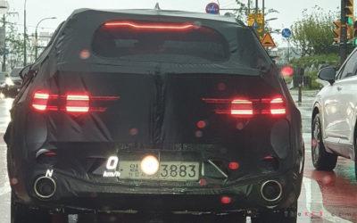 Genesis GV70 Brake & Indicator Production Lights