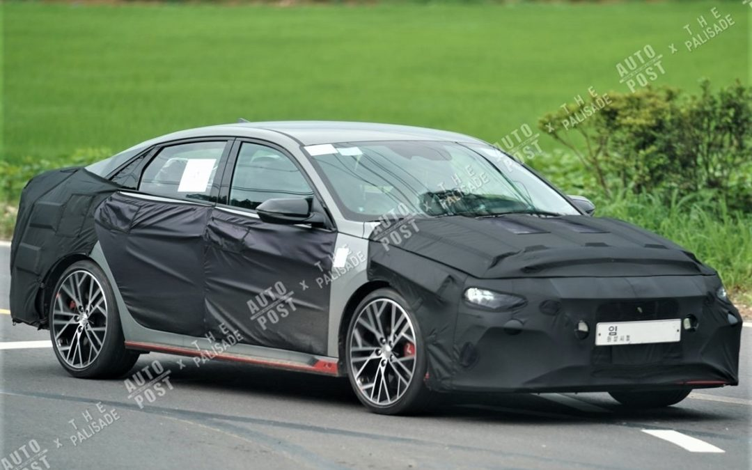 Hyundai Elantra N Spied, Production Wheels?