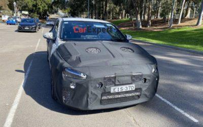 Hyundai i30 N Fastback Facelift Spied