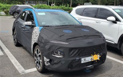 Hyundai Kona Facelift Spied Ahead Inminent Debut