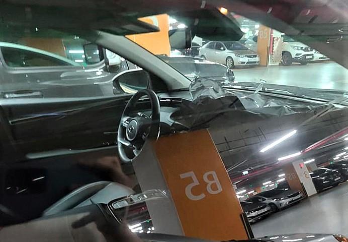 2021 Hyundai Tucson Interior Spied
