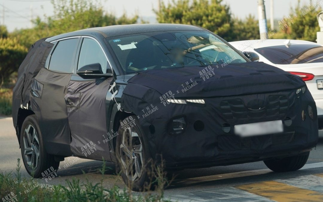 2021 Hyundai Tucson Spied Ahead Inminent Debut