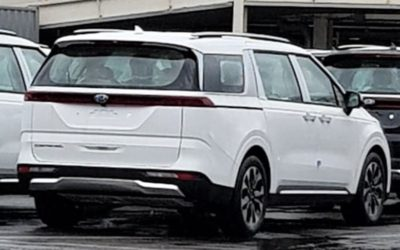 4th Gen Carnival Spied In & Out Ahead 18th Reveal