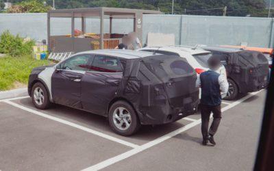 Next-gen Kia Sportage NQ5 Spied