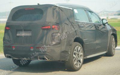 Hyundai Santa Fe N-Line Spied