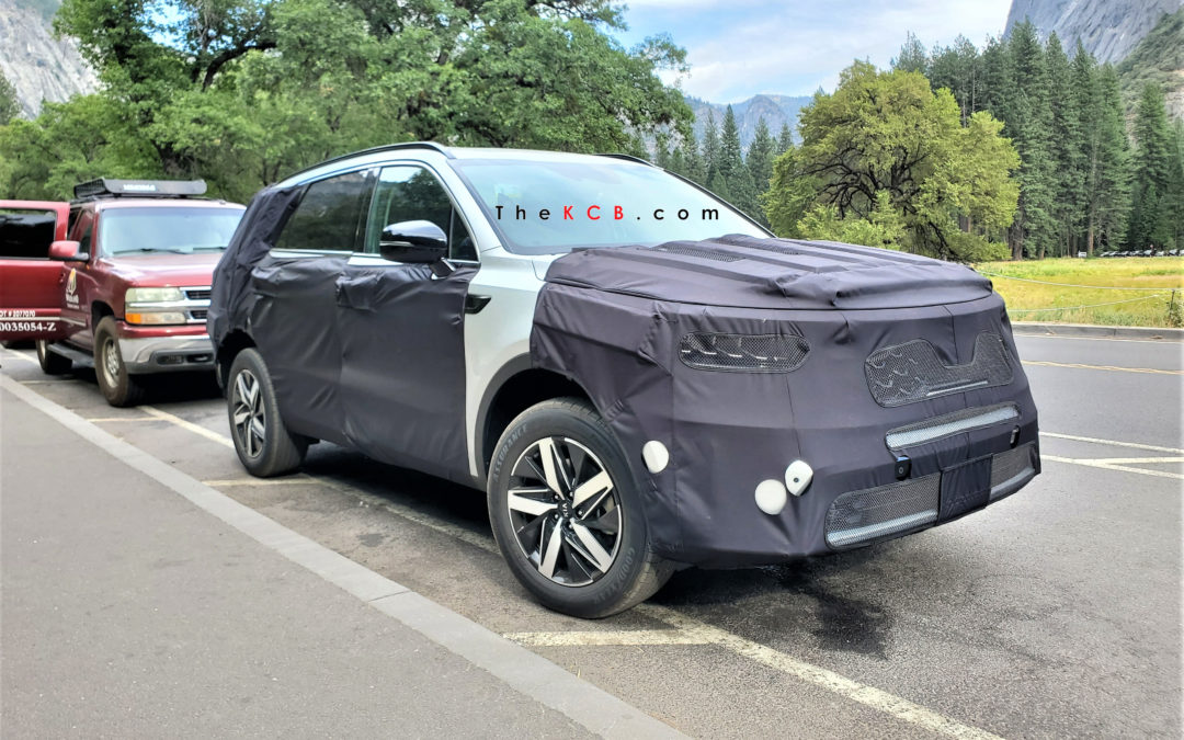 US-Spec Sorento Spied in Yosemite Valley