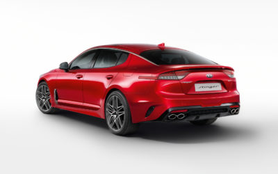 Kia Stinger Arrives to Europe, Only with 3.3 Turbo