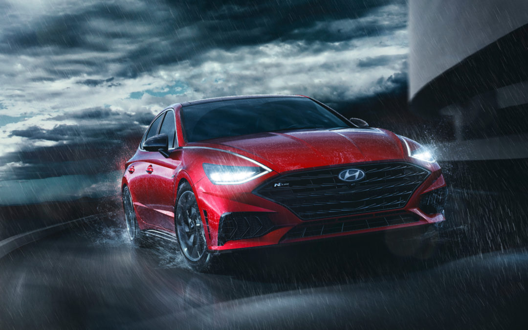 Hyundai Sonata N Line World Debut Shows Off A Sportier Side of Sonata