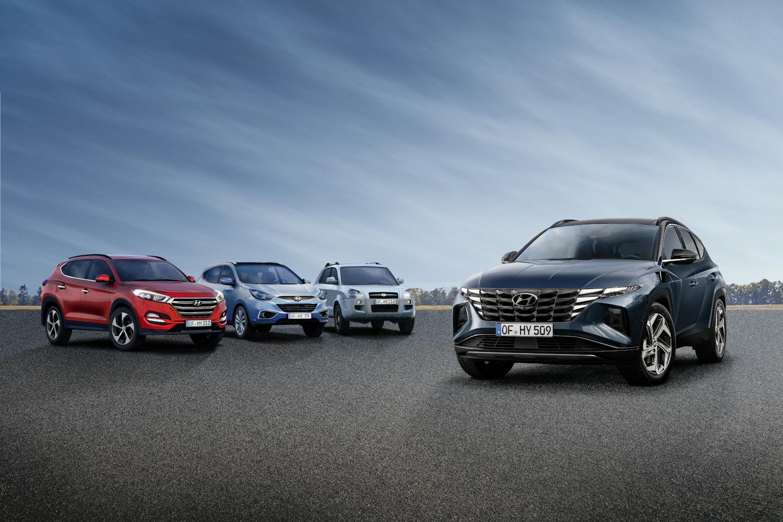 Hyundai Tucson_all generations