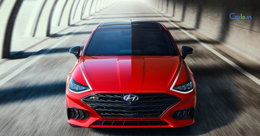 Hyundai Sonata N-Line Official Picture Leak