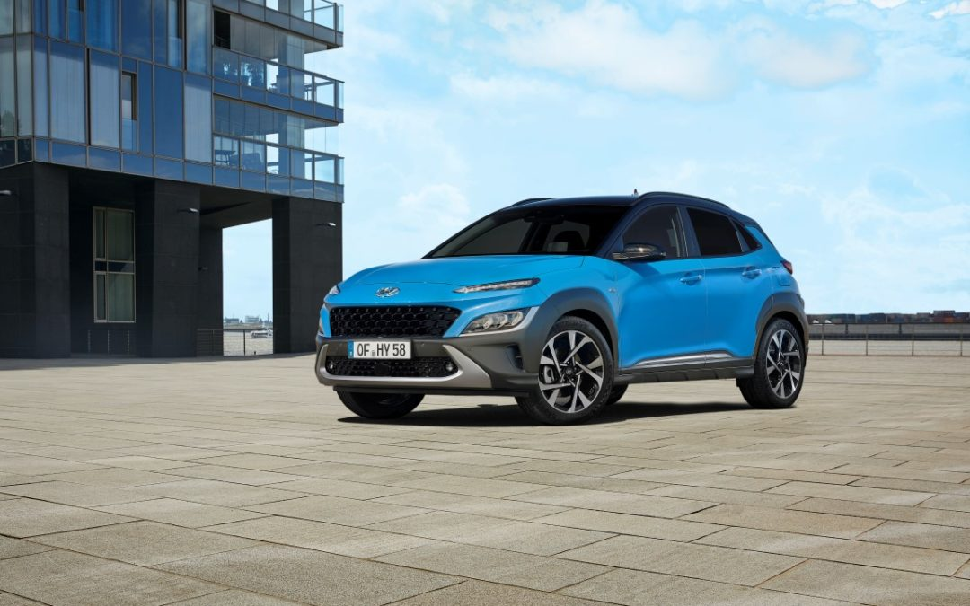 Refreshed Hyundai Kona Officially Revealed