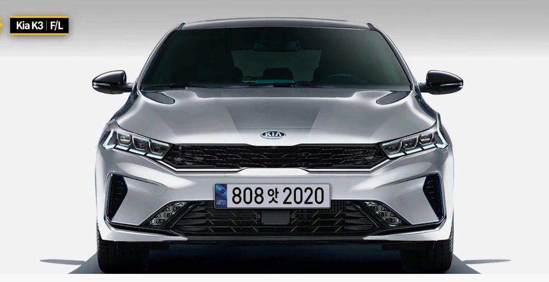 Kia Forte Facelift Rendering