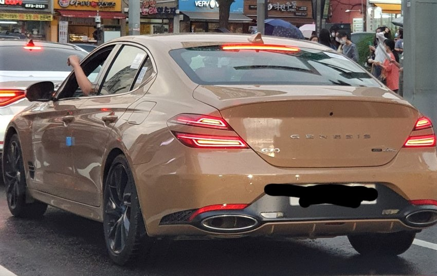 Genesis G70 Facelift First Real World Picture
