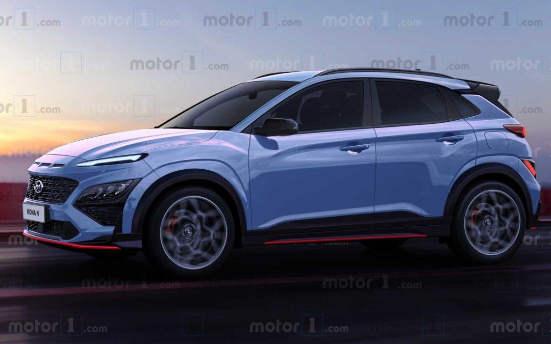 Hyundai Kona N Rendering Based on N-Line