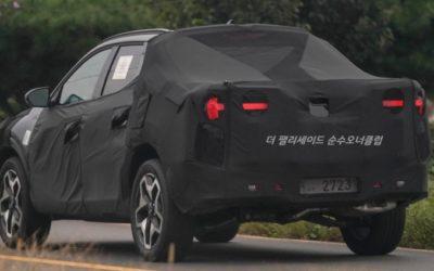 Hyundai Santa Cruz Latest High Quality Spy Shots