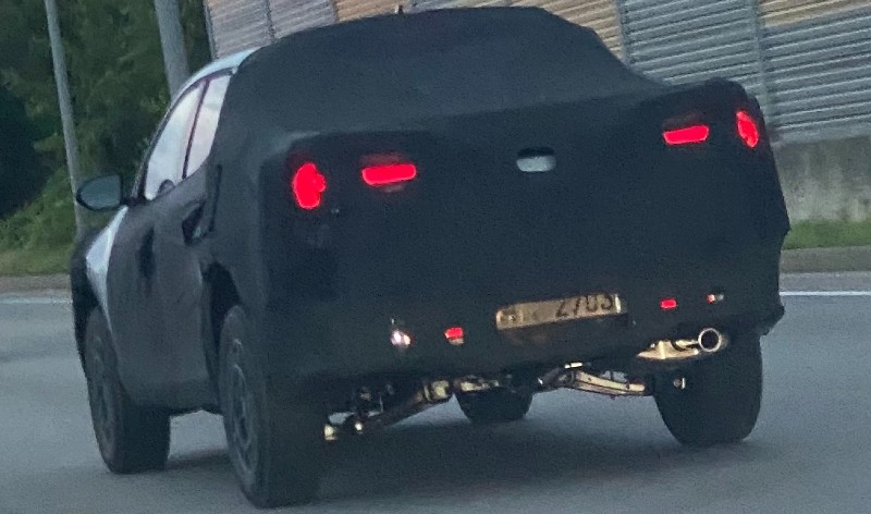 Hyundai Santa Cruz Spied w/ Thor's Hammer Taillights