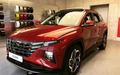 Hyundai Tucson Live Pictures at South Korean Dealer