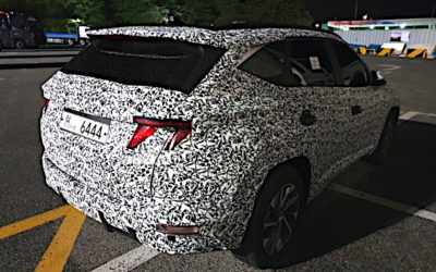 Hyundai Tucson Sticker Camouflage