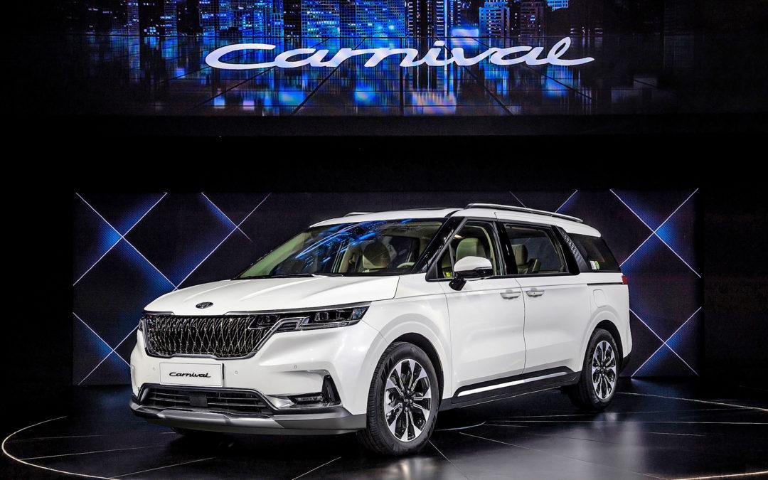 Kia Motors Launch Carnival & K5 at Auto China 2020
