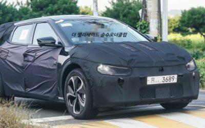 Kia CV EV Crossover Spied in South Korea
