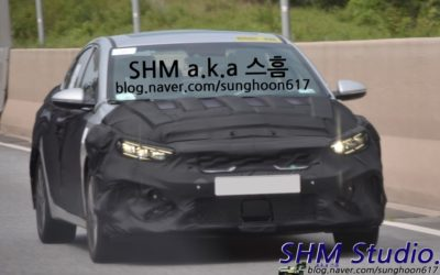 Kia Forte Facelift Spied In & Out