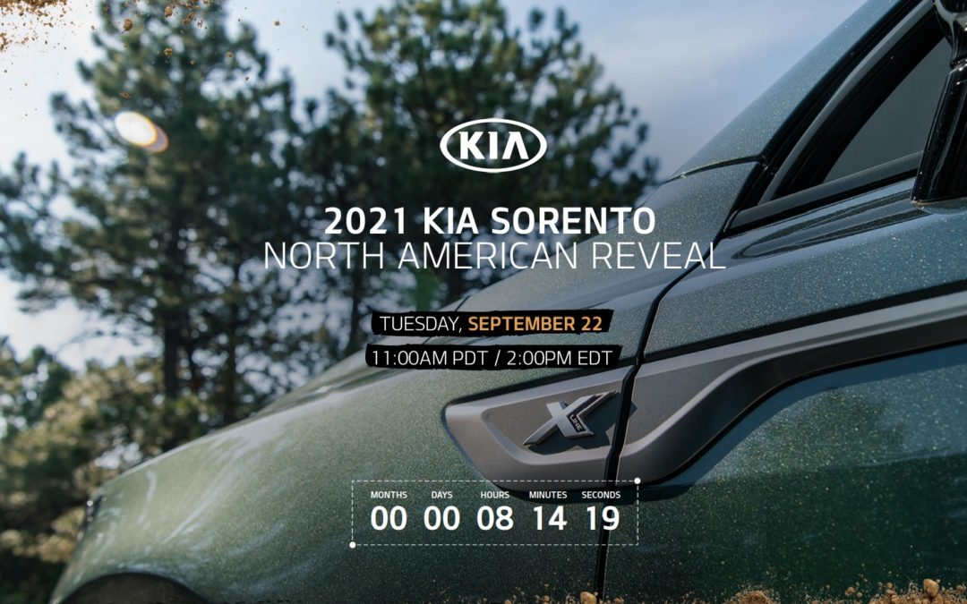 2021 Kia Sorento North American Reveal is Today