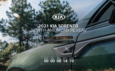 2021 Kia Sorento North American Reveal is Today