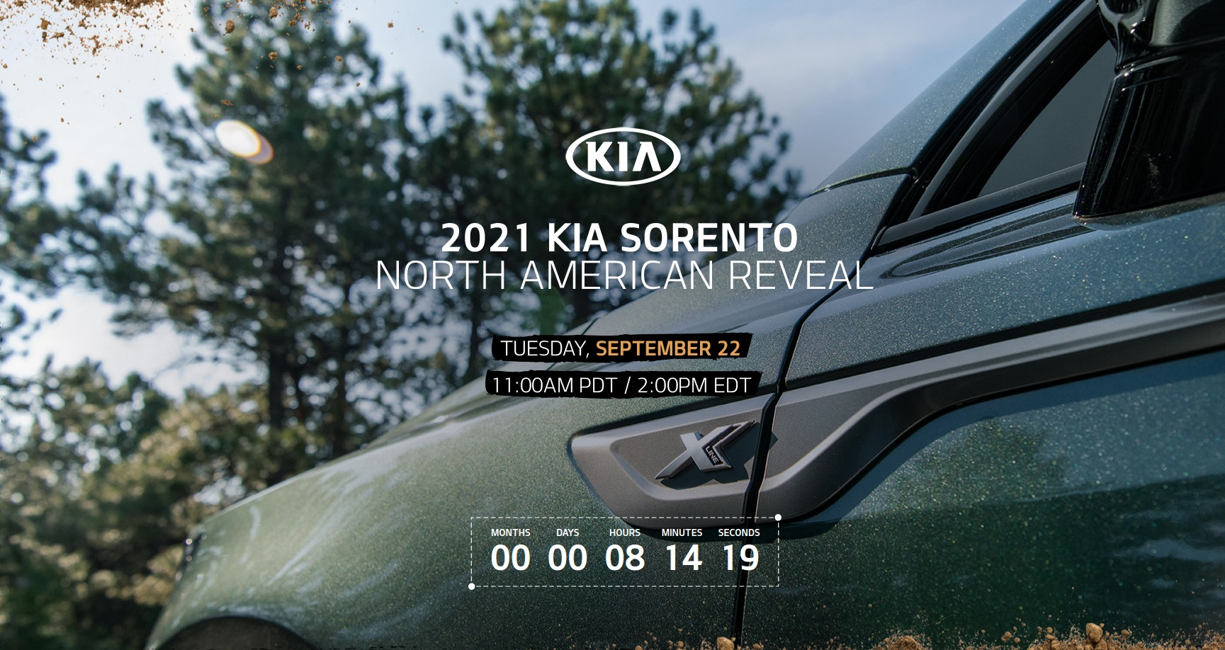 kia sorento us reveal