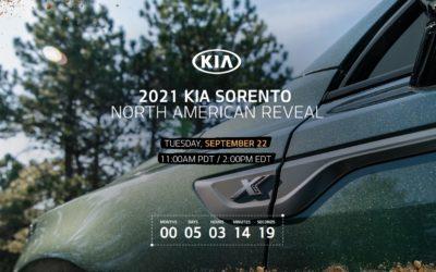 US-Spec Kia Sorento Will Debut on Sept. 22th