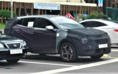 Regular Next-gen Kia Sportage Spied