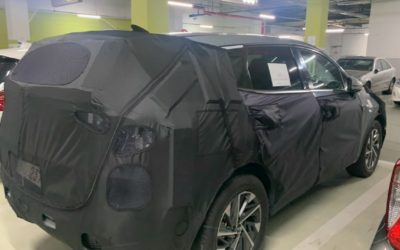 Kia Sportage Hybrid Spied for the First Time