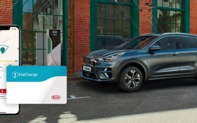 "Kia Launches ""KiaCharge"", Mobile-App Public Charging Service"