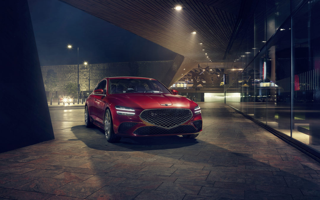 The New Genesis G70 Officially Debuts