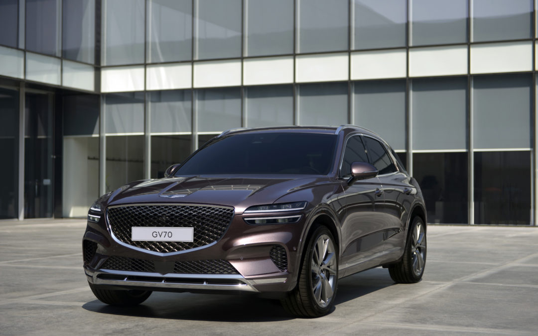 Genesis GV70 and GV70 Sport Reveals Stylish New Compact Luxury SUV