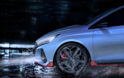 Hyundai Motor Reveals Teaser of the All-New i20 N