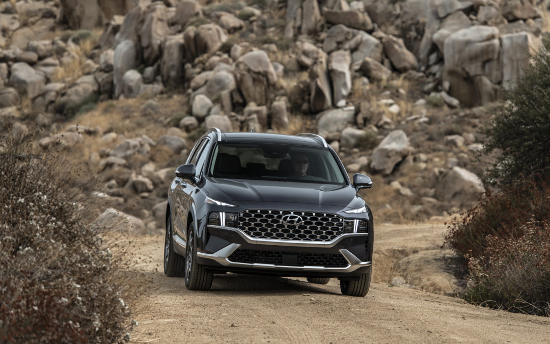 Updated Hyundai Santa Fe Reaches North American Market