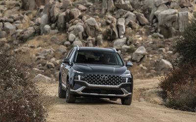 Updated Hyundai Santa Fe Reaches North American Market