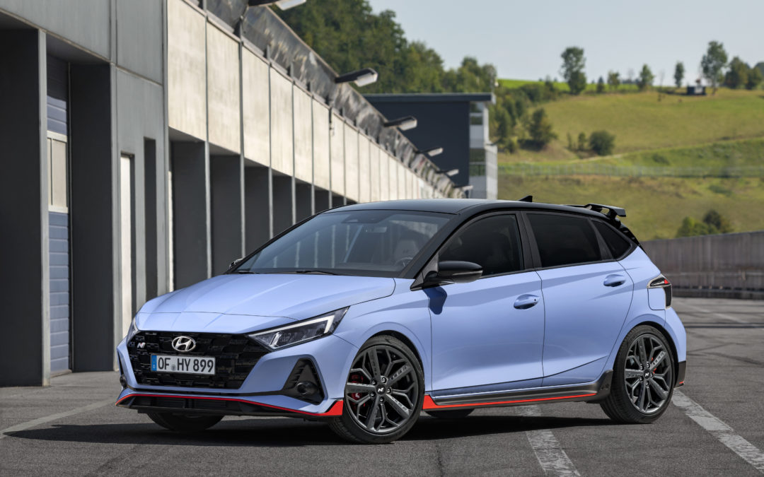 Hyundai Motor unveils the all-new Hyundai i20 N