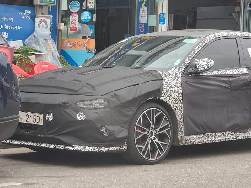 Future Hyundai Elantra N Spied