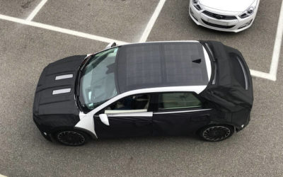 Hyundai Ioniq 5 Spied with Solar Roof