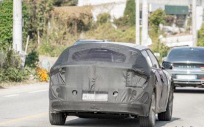 Kia CV Dedicated EV Spied in South Korea